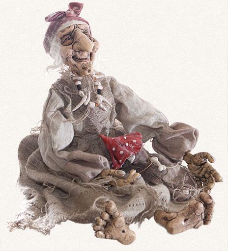 Кукл баба яга своими руками фото